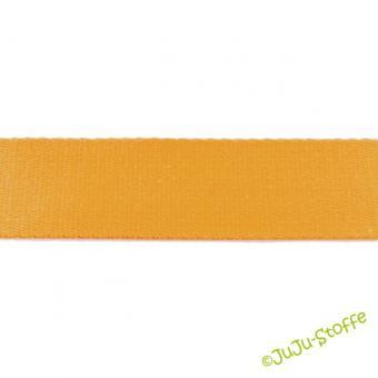 Gurtband Baumwolle gelb 40 mm