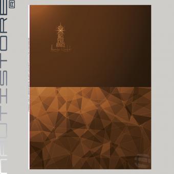 """French Terry Panel """"Magic Light"""" braun von Nautistore"""