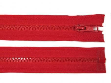 Reißverschluss teilbar 30cm in rot