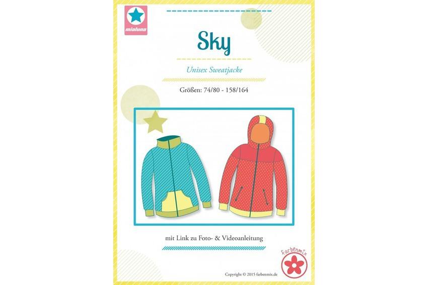 JuJu-Stoffe.de | Papierschnittmuster Sky Sweatjacke von farbenmix ...