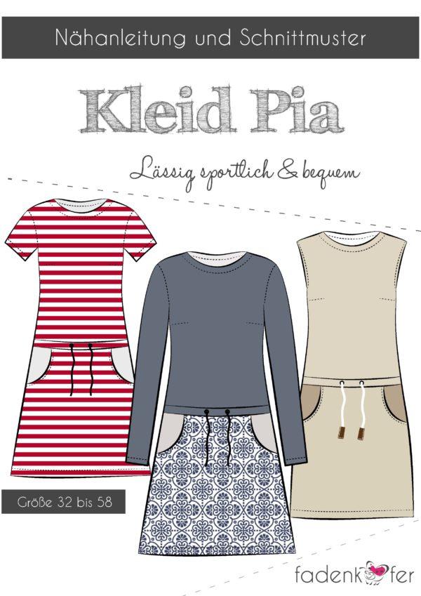 JuJu-Stoffe.de | Papierschnittmuster Kleid Pia Damen | online kaufen