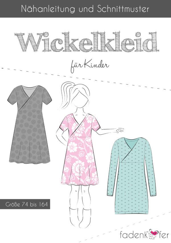 JuJu-Stoffe.de | Papierschnittmuster Wickelkleid Kinder | online kaufen