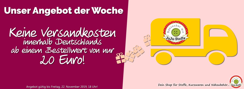 Angebot der Woche 47/2019 - Versandkostenfrei ab 20 Euro Warenwert