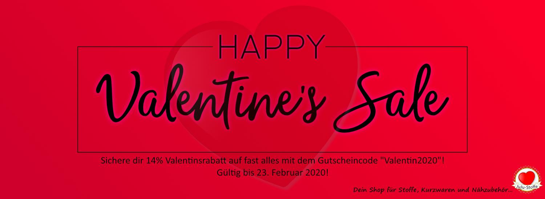 Valentine's Sale - 14% Rabatt auf fast alles!