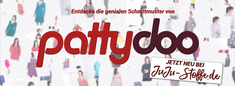 Die Schnittmuster von pattydoo - Neu bei JuJu-Stoffe.de