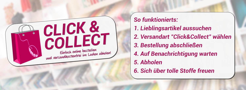 Click&Collect bei JuJu-Stoffe
