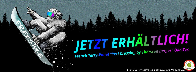 Jetzt erhältlich: Yeti Crossing by Thorsten Berger